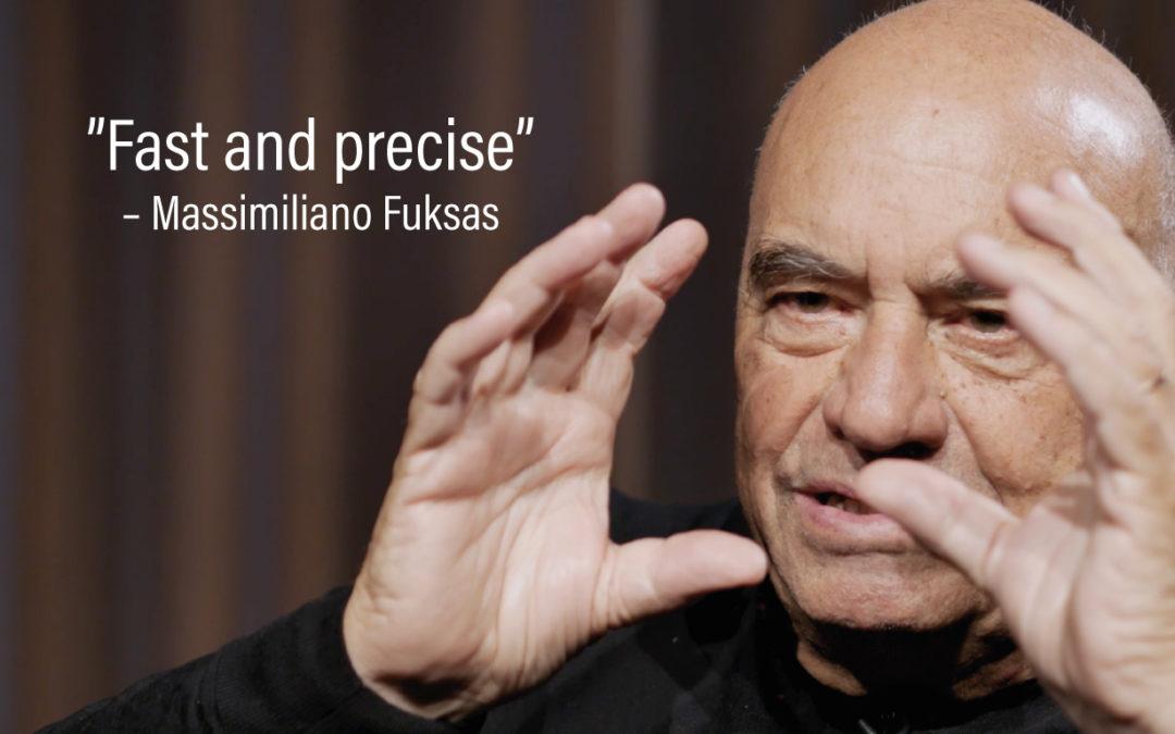 Massimiliano Fuksas om inspiration och stål