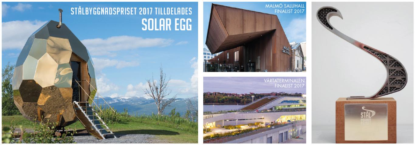 Stålbyggnadspriset 2019 stålbyggmnadsinstitutet arkitektur stålbyggnad stål stålkonstruktion