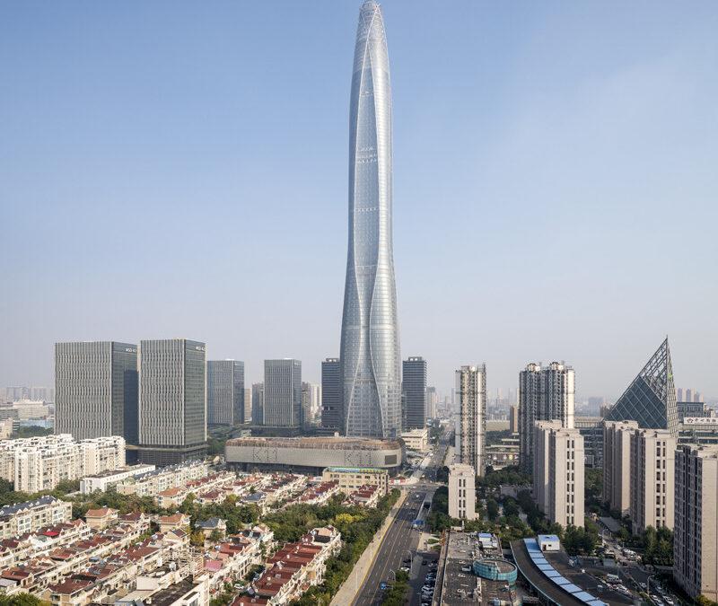Rekordår för byggandet av höga byggnader