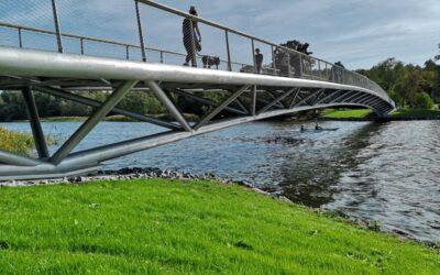 Rostfri bro tar hem Årets Stockholmsbyggnad