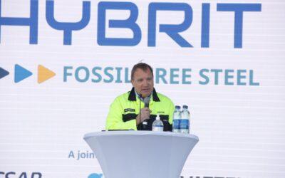 HYBRIT visar vägen mot fossilfritt stålproduktion