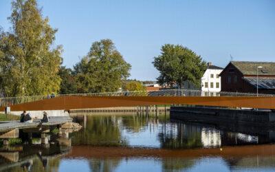 Parkbron – Sveriges bidrag i European Steel Design Award